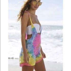 Tie dye Romper Cover-Up